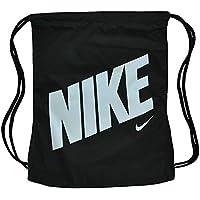0085262772808 Nike NK Graphic Gym Sack Gymnastic Gymnastik Beutel Turnbeutel Schwarz Weiß