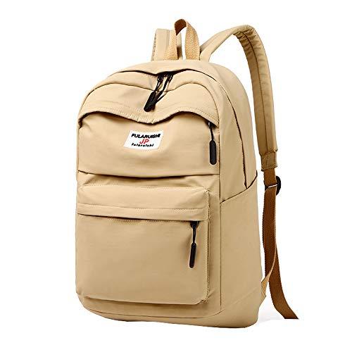 Klassischer Rucksack mit großer Kapazität, Leichte wasserdichte und strapazierfähige Schultasche aus Nylon Casual Laptop Rucksack Vakuum, Heranwachsende Jungen und Mädchen Rucksack -