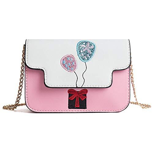 Reasoncool 2018 Damen Handtasche,Frauen Frische Ballon Wilde Umhängetasche Kuriertasche,18cm(L) x6cm(W) x13cm(H)