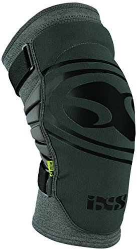 IXS Sports Division Carve EVO+ Knee Guard Knie- Und Schienbeinschoner, Grey, M