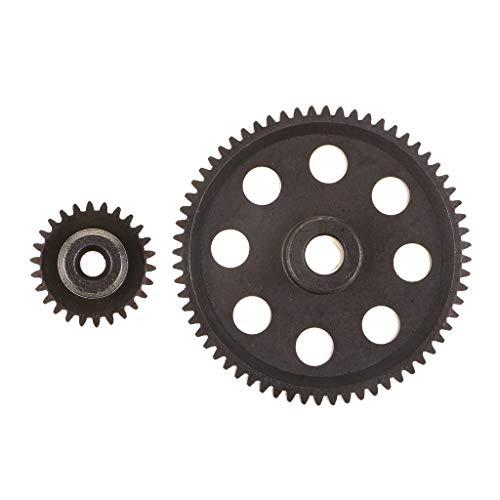 perfeclan Metall Motorrad Getriebe Ritzel Zubehör für 1/10 Hsp Hpi RC Auto -