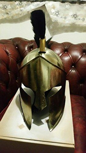 ANTIQUENAUTICAS 300 Film Spartanischer König-Leonidas + Mittelalterlicher Römischer Helm Griechische Zwischenlagen-Replik. 3 -