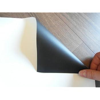profi leinwandtuch meterware leinwandstoff 2 88m x 1 62m leinwand f r beamer. Black Bedroom Furniture Sets. Home Design Ideas