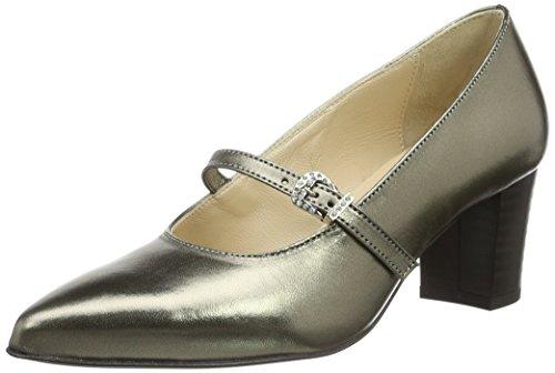 Diavolezza KATE 7500, Scarpe con tacco donna Argento (Argento (Silver))