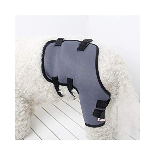Z-PET Cane Canino Ginocchio Brace Rehab Ginocchio Protettivo Leg Wrap Brace for Lesioni E Distorsione Ferita Ferita Distorsione Guarigione (Color : Left-Rear Leg, Size : M)