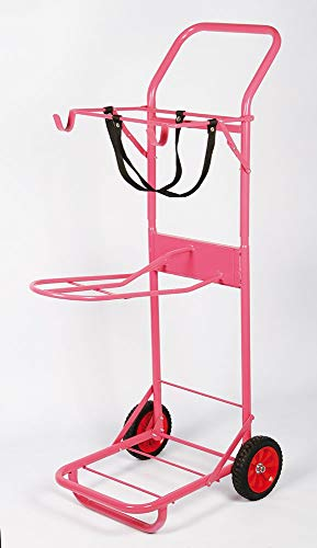 Harrys horse Stallkarren Color Sattelwagen Farbe rosa