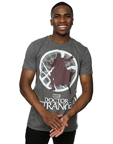 Marvel -  T-shirt - Maniche corte  - Uomo Charcoal Large
