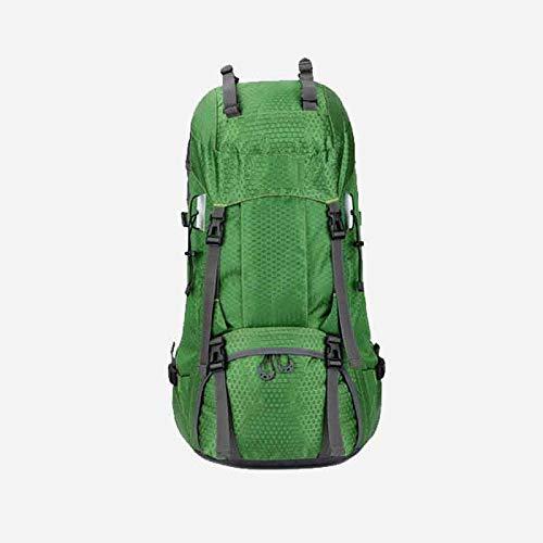 LXJL 60L Leichter Wanderrucksack, multifunktionale Wasserabweisende lässige Camping Trekkingrucksack für Radfahren Reisen Klettern Bergsteiger Outdoor-Sport,C