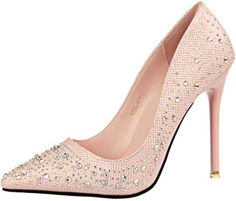 les talons de chaussures sexy jrenok mode de luxe luxe luxe à strass, talons hight 10 mariage chaussures de femmes b07h2bq5bn parent   Une Grande Variété De Modèles 2019 New  95989b