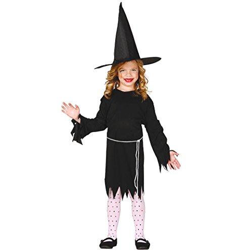 (Guirca Kleine Hexe Kinder Kostüm 110 - 146, Größe:110/116)