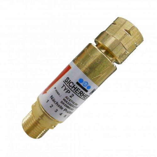 Explosionsschutz HARRIS/KAYSER Rückschlagsicherung Brenngas (Acetylen oder Propan)