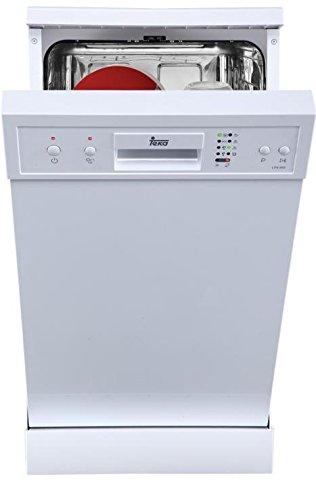 Teka LP8 400 Bajo encimera 9cubiertos A+ lavavajilla - Lavavajillas (Bajo encimera, Color blanco, Slimline (45 cm), Color blanco, Botones, 9 cubiertos)