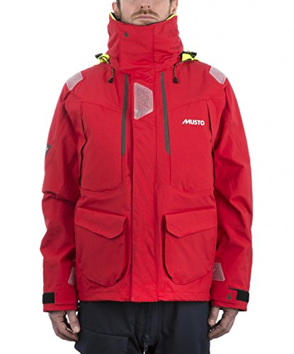 Musto BR2 Offshore Jacket 2017 - True Red/True Red XL