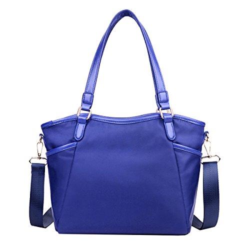 Taschen Lässige Blue Mode Farben Handtaschen Schulterbeutel Diagonal Taschen Lässig Mama f Yy Zwei Schultermamabeutel Mama Freizeit t4xCwqfWPn