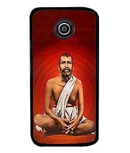Fuson Designer Back Case Cover for Motorola Moto E2 :: Motorola Moto E Dual SIM (2nd Gen) :: Motorola Moto E 2nd Gen 3G XT1506 :: Motorola Moto E 2nd Gen 4G XT1521 (God Bengali West Bengal Bhagwan)