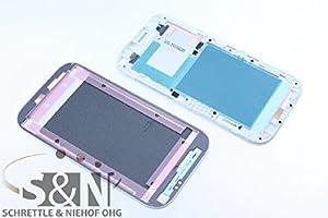 NG-Mobile Original HTC ONE SV Display Rahmen Cover Gehäuse + Kleber, weiß