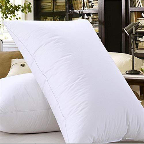 Hotelkissen Zum Schlafen(2-pack),nach Unten Alternative Mikrofaser Plüsch Kissen Allergiker-geeignet Weich Unterstützendes Kissen Für Hotel-a 45x70x15cm(18x28x6inch) -