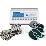 Masajeador Digital Meridian Tens EMS Electroestimulador Estimulador muscular Maquina de fisioterapia Terapia de dispositivo acupuntura para Body Shaper Adelgazante Cuidado del pecho Alivio del dolor