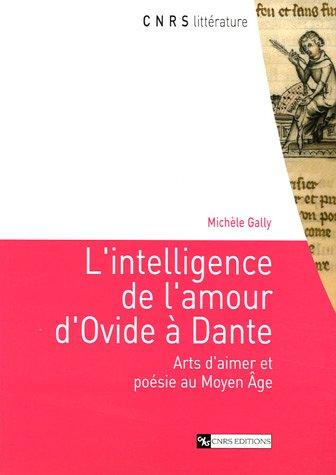 L'Intelligence de l'amour d'Ovide à Dante