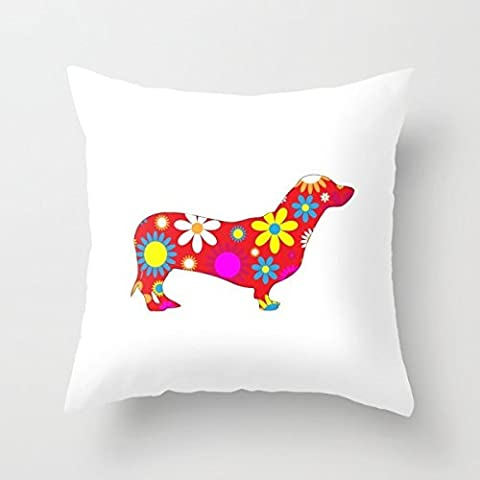 Cushion Cases Of Dogs 16 X 16 Inch / 40