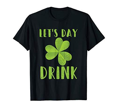 Lassen Sie uns Tag trinken Kleeblatt St Patrick Tag ()