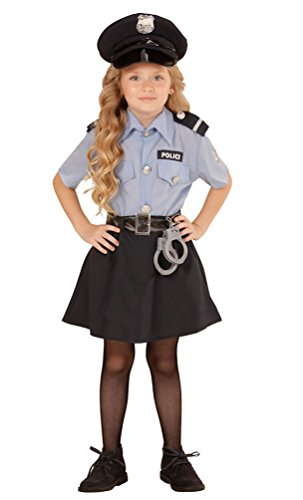 ,Karneval Klamotten' Kostüm Polizistin Sandra Mädchen Karneval Polizei Mädchenkostüm Größe 152 INKL. Zubehör