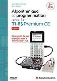 Algorithmique et programmation avec la TI-83 Premium CE - Conception de jeux et projets avec le TI-Innovator TH Hub