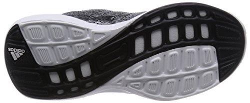 adidas Hyperfast 2.0 K S82587 Jungen Schnürhalbschuh sportlicher Boden Schwarz