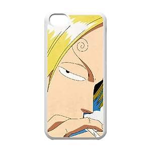iPhone 5C cell phone Case White One Piece Sanji 4(9) ix7638103