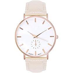 Trend Watch Designer Rose Gold Chronograph Look Beige Cream Rose Gold Rose Gold Bracelet Watch Rose Gold/Rose Gold Copper Blogg Arabic Numerals in Eruhr