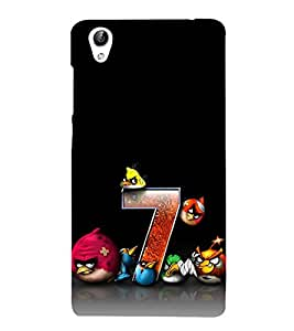 Vizagbeats 3D Angry Birds Back Case Cover for Vivo Y51 L