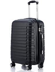 Zwillingsrollen 2088 Reisekoffer Koffer Trolleys Hartschale in XL-L-M in 14 Farben