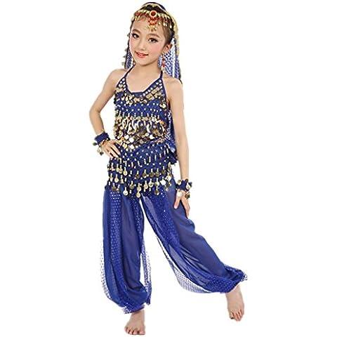 ZYQYJGF Accessori Danza Del Ventre Abbigliamento Moda Costumi Tutti Ragazza