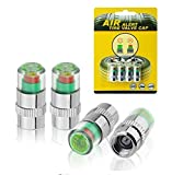 #10: Air Alert tire Valve Cap (36 PSI), Fits car and Bike