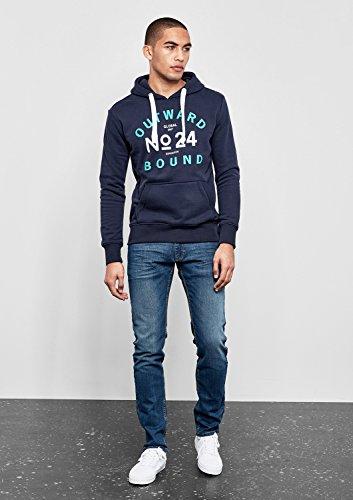 Q/S designed by - s.Oliver Herren Sweatshirt Blau (Blue 5873)