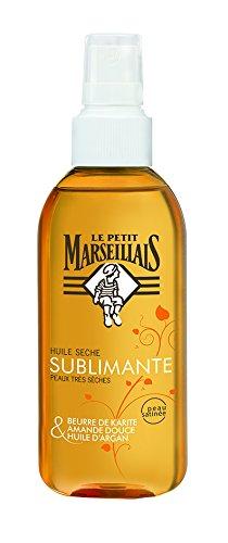 Le Petit Marseillais - Soins du Corps Huile Sèche Sublimant - Peaux très Sèches - Spray 150 ml