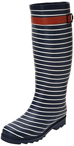 Be Only Cruiser, Bottes de pluie femme Bleu (Marine/Blanc)