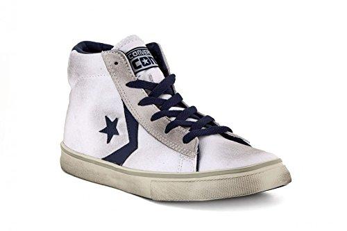 Converse - Zapatillas de Piel para niño blanco blanco taglia unica blanco Size: 30