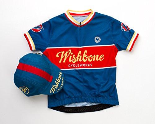wishbone-bike-shirt-und-casquette-fahrradshirt-und-schirmmutze-blau-m