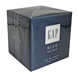 Gap Blue No. 655 Eau de Toilette for Him .5 fl oz (15 ml)