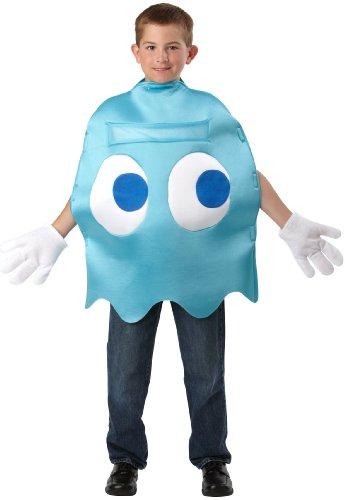 Deluxe Children's Costume Halloween size black Pac-Man Inky -