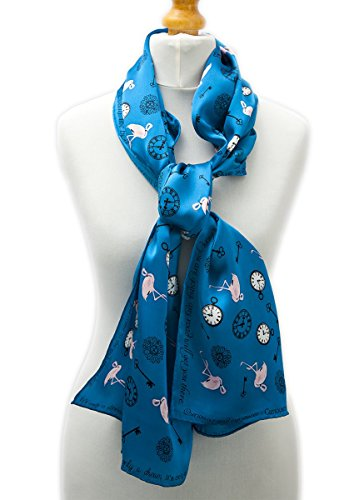 alice-in-wonderland-design-flamingo-print-100-pure-silk-160x40-scarf-for-women-limited-edition-hand-