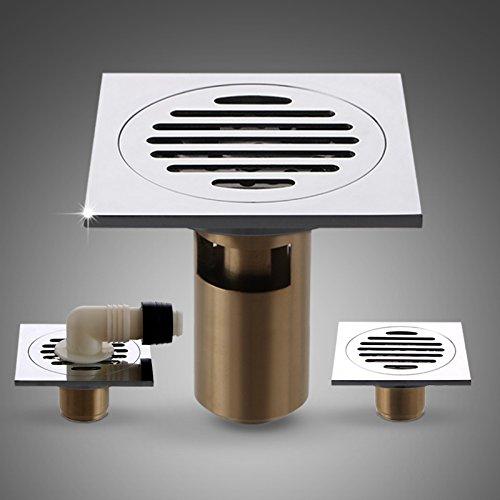 X&L Copertura continentale full rame deodorante rondella Servizi igienici singola e doppia tees usato antico deep acqua scarico 100 * 100 mm