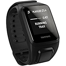 TomTom Spark Music GPS Watch Black, L by TomTom