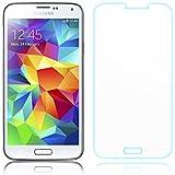 iProtect Tempered Glass Hartglas Schutzfolie für Samsung Galaxy S5 0,3mm Display Schutzglas