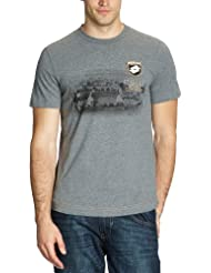 Lotto Sport - Camiseta de running para hombre, tamaño S, color mel.graphite