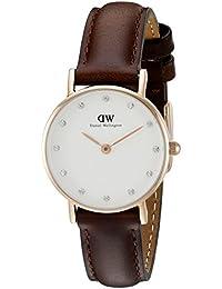 Daniel Wellington Classy Damen-Armbanduhr Analog Quarz Leder - DW00100062