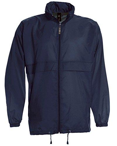School wear colección de B & C 'Sirocco/niños Unisex Plus Free Internet los comerciantes ambientador para coche 3–14años Azul azul marino 9/11 años