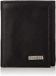 Amazon Brand - Symbol Men's RFID Protected Tri-fold 100% Genuine Leather Wa