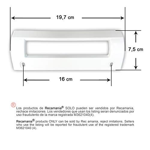 Recamania® - Tirador Frigorifico Blanco Balay Crolls